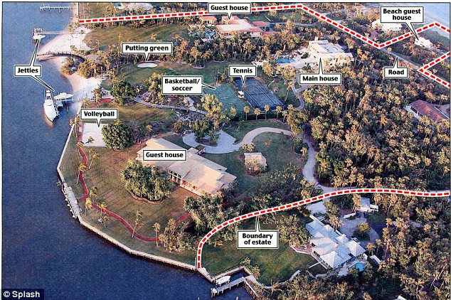 Tiger Wood's house